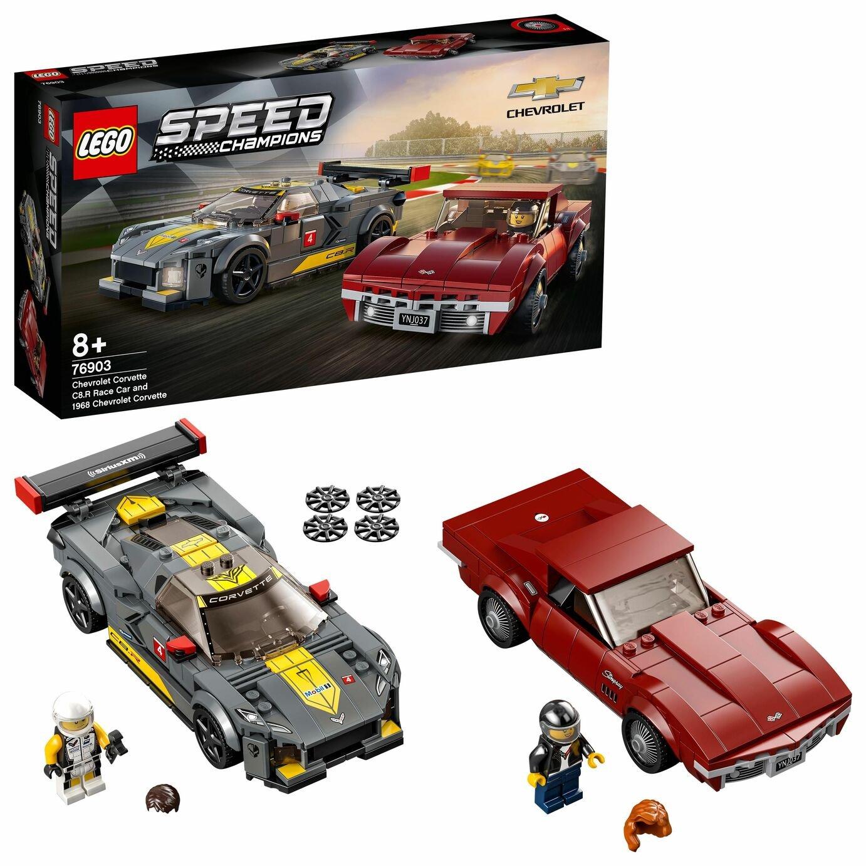 LEGO Speed Champions Chevrolet Corvette 2 Models Set 76903