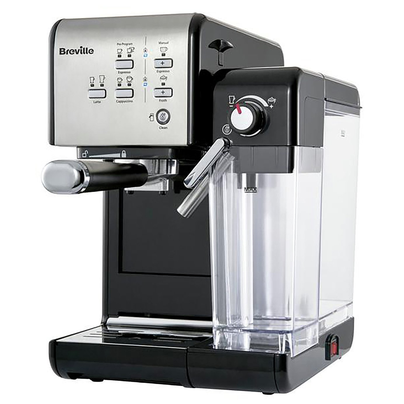 Breville VCF107 One-Touch Espresso Coffee Machine - Black