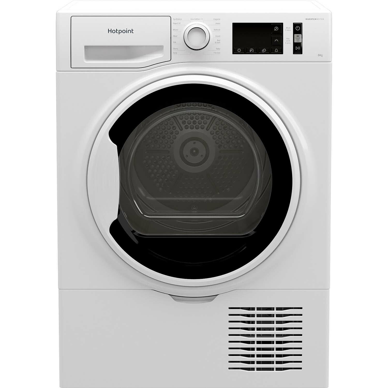 Hotpoint H3D81WBUK 8KG Condenser Tumble Dryer - White