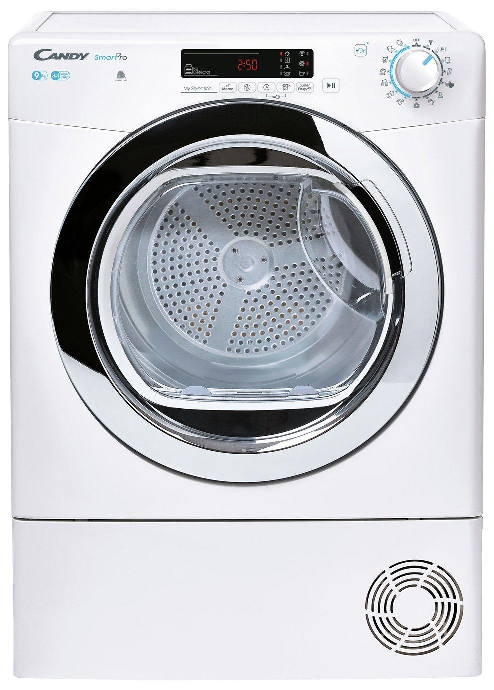 Candy CSOE C9DCG-80 9KG Condenser Tumble Dryer - White