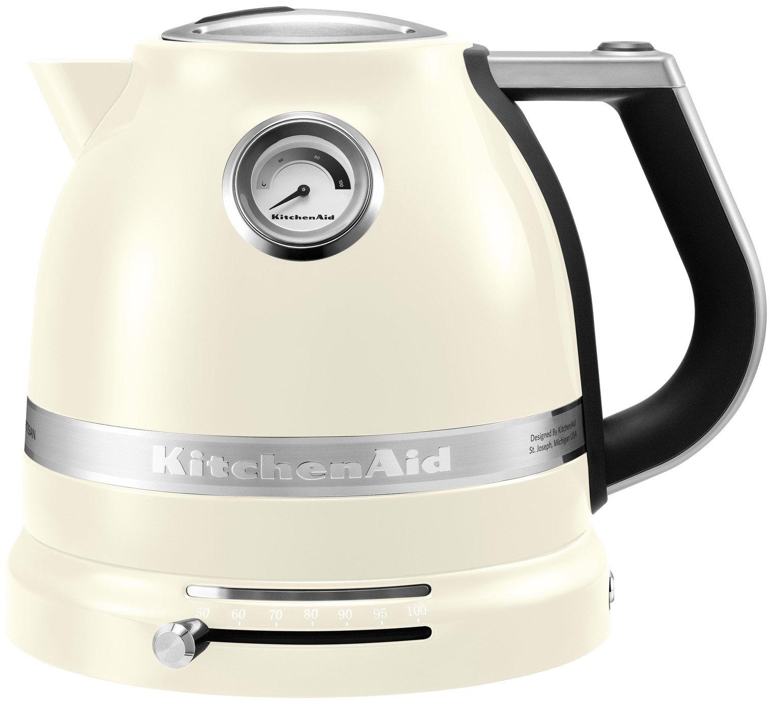 KitchenAid 5KEK1522BAC Artisan Kettle - Cream
