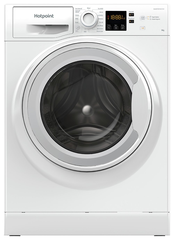 Hotpoint NSWM944CWUK 9KG 1400 Spin Washing Machine - White