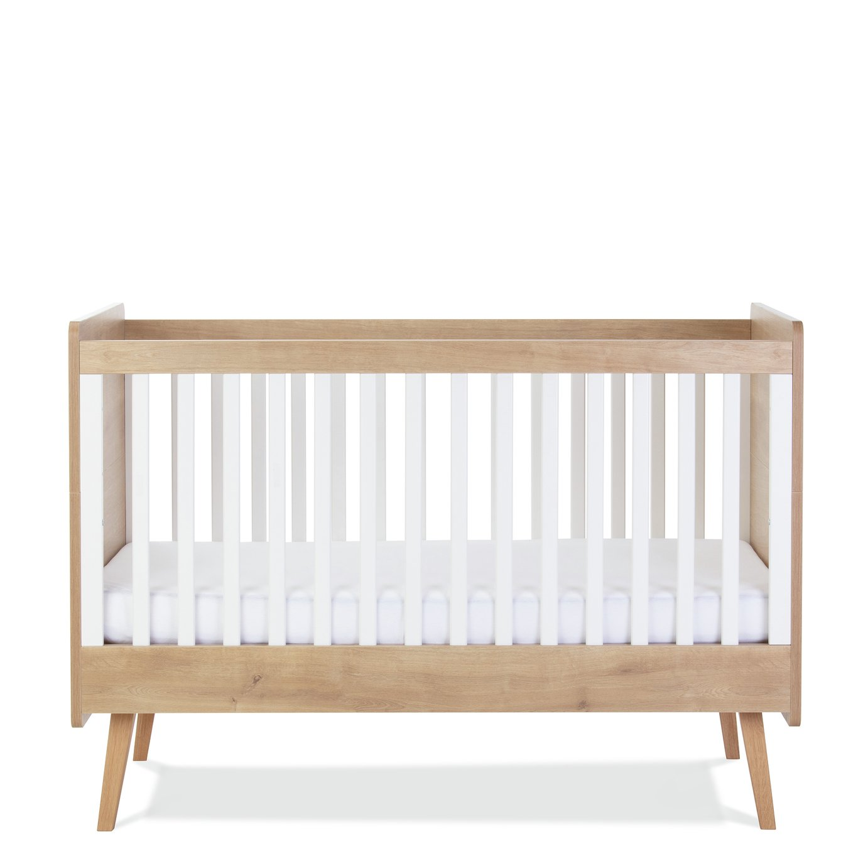 Silver Cross Westport Cot Bed - White