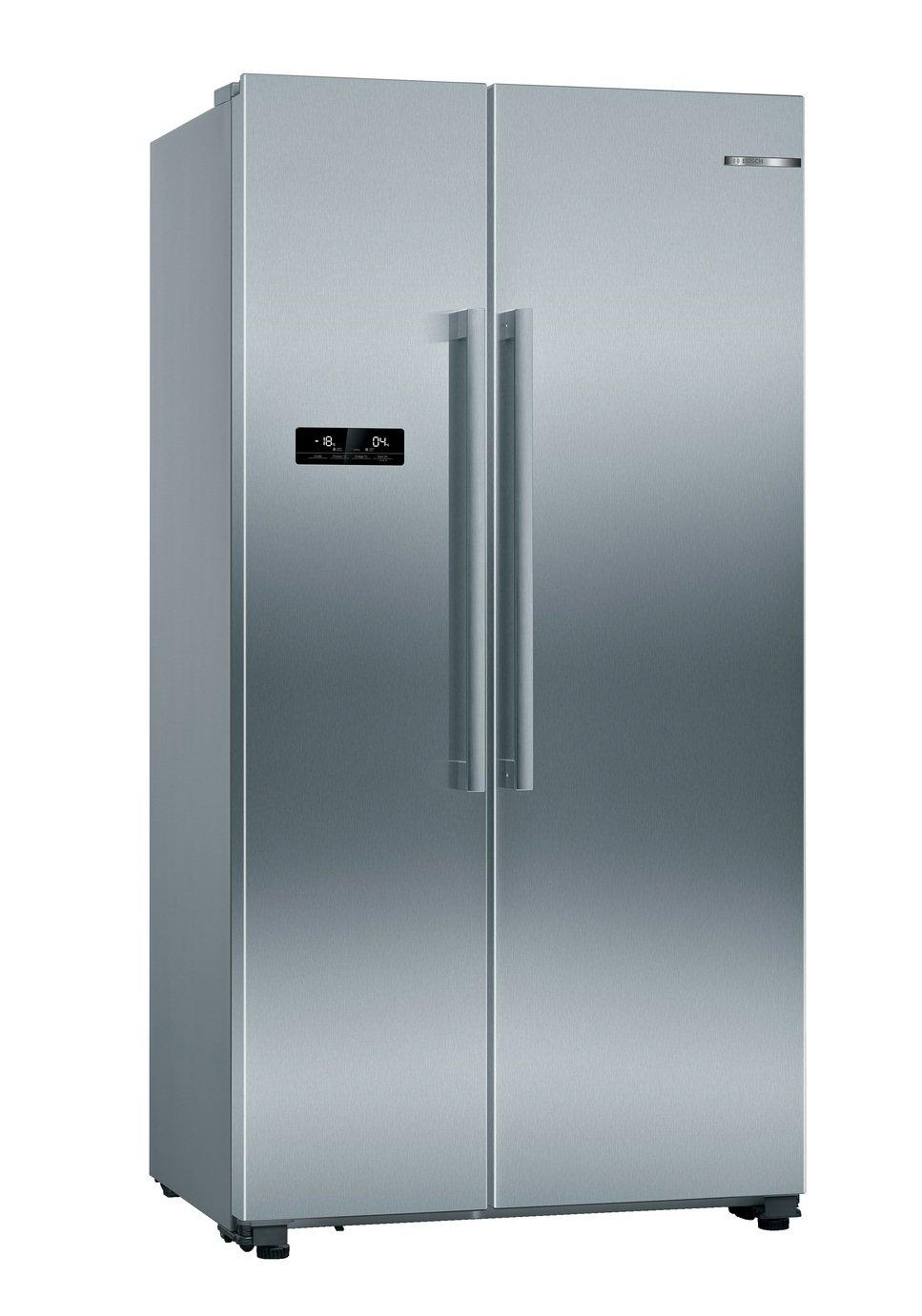 Bosch KAN93VIFPG American Fridge Freezer - Silver