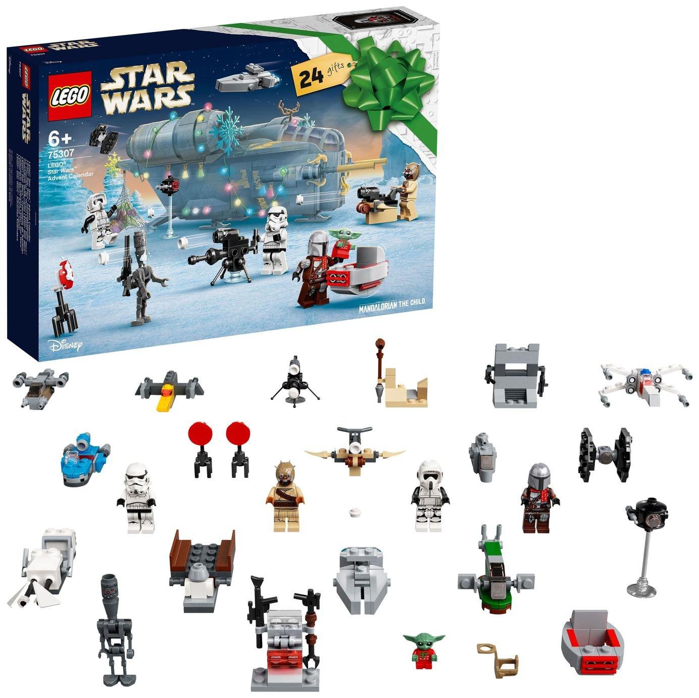 LEGO Star Wars Advent Calendar Christmas Toys for Kids 75307