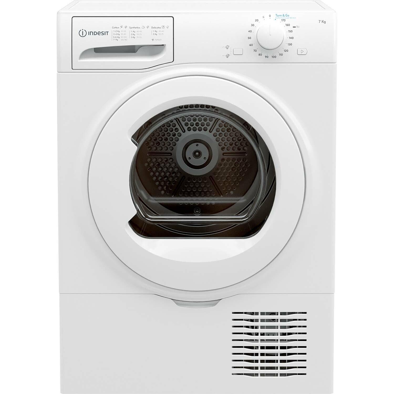 Indesit I2D71WUK 7KG Condenser Tumble Dryer - White