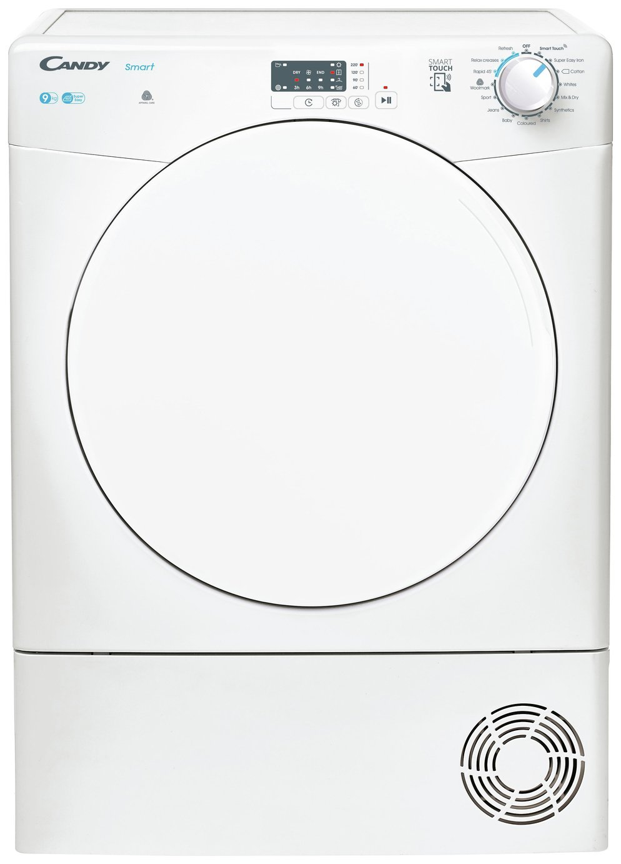 Candy CSEC9LF-80 9KG Condenser Tumble Dryer - White