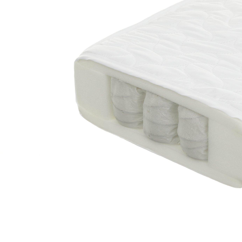 Obaby 140 x 70cm Pocket Sprung Cot Bed Mattress