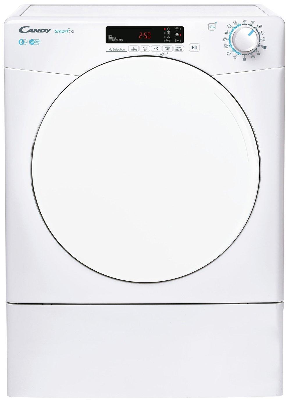 Candy CSOE V8DF-80 8KG Vented Tumble Dryer - White