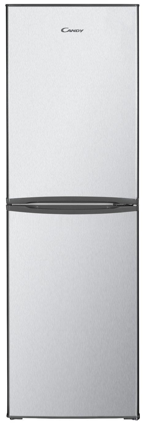 Candy CHCS 517FSK Fridge Freezer - Silver
