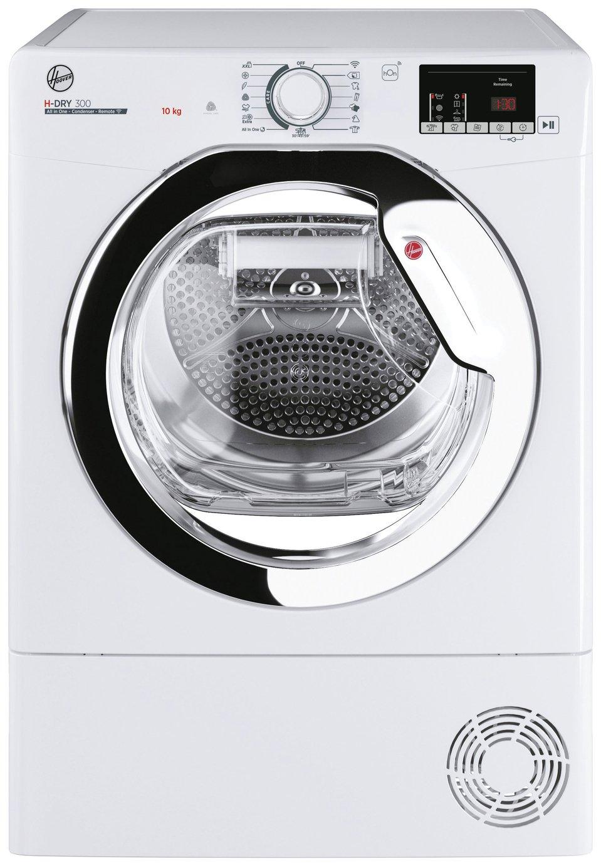 Hoover HLE C10DCE-80 10KG Condenser Tumble Dryer - White