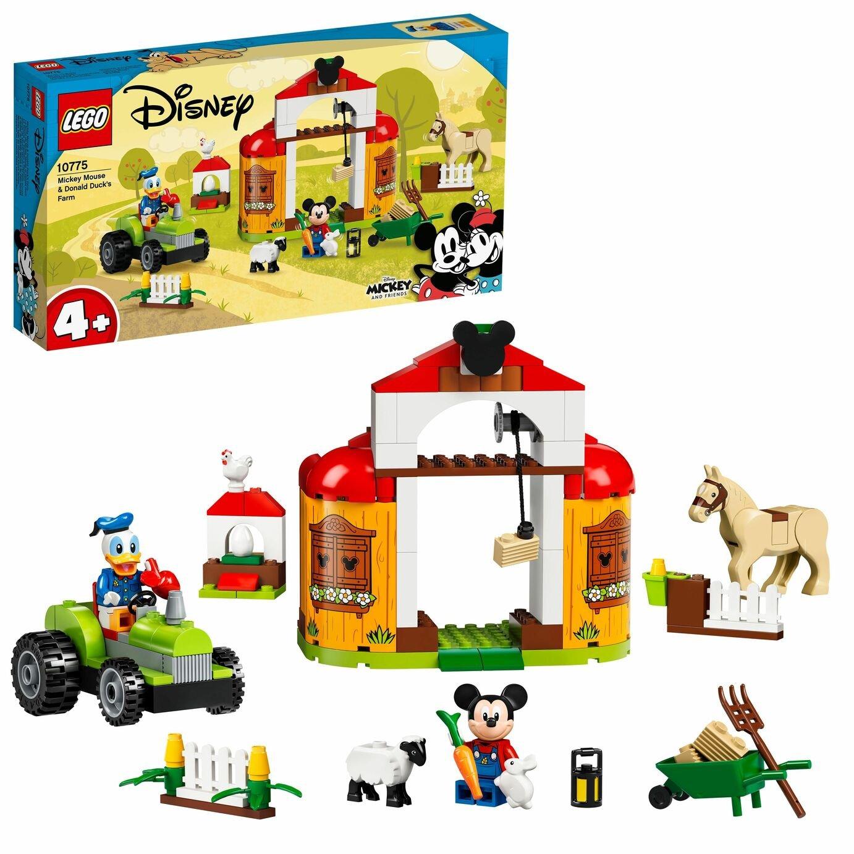 LEGO Disney 4+ Mickey and Donald Duck's Farm Toy 10775