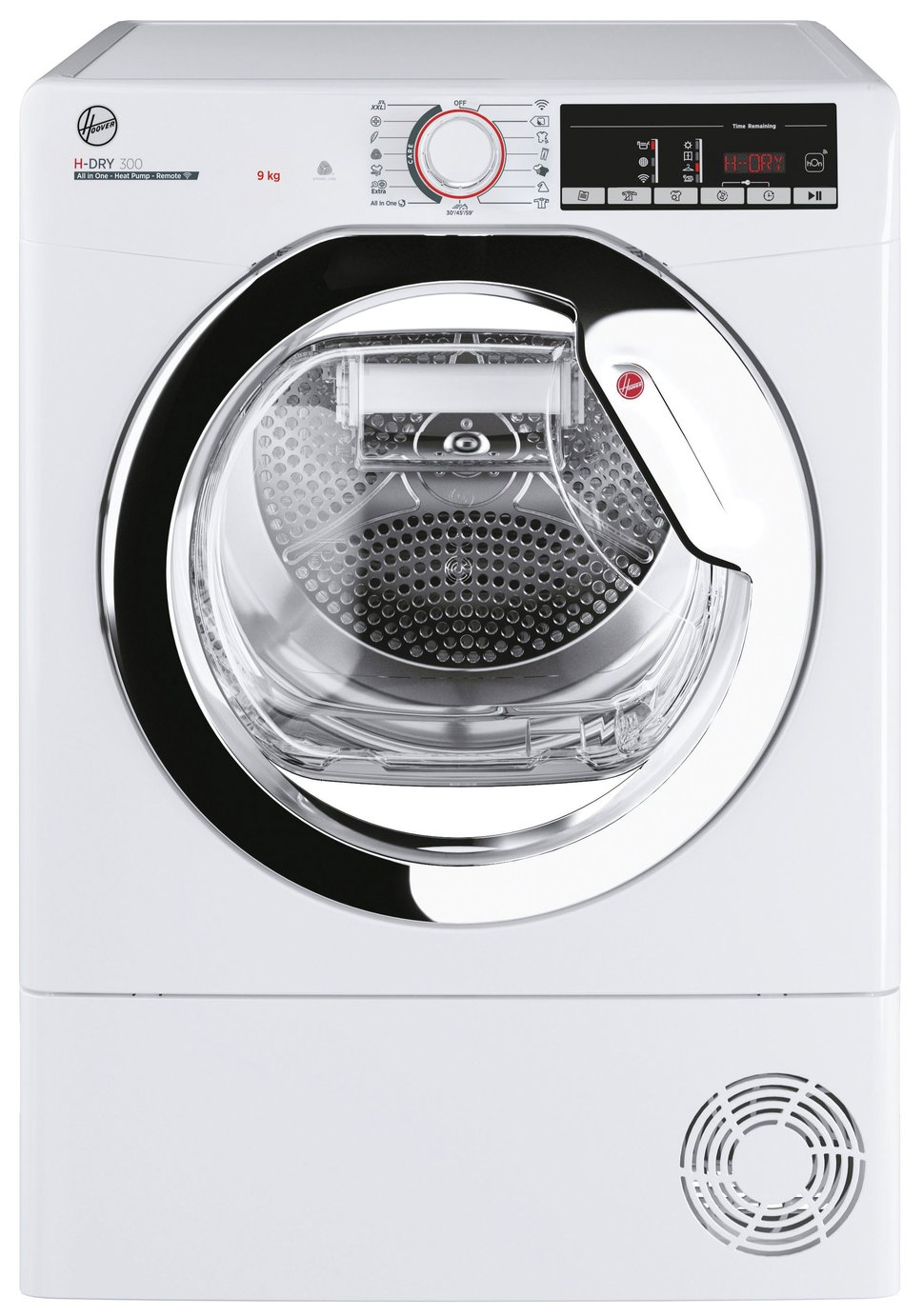 Hoover HLE H9A2TCE-80 9KG Heat Pump Tumble Dryer - White