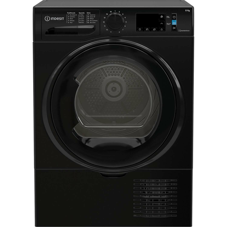 Indesit I3D81BUK 8KG Condenser Tumble Dryer - Black