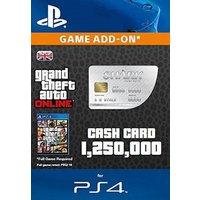 GTA 5 Great White Shark Cash Card PS4 Digital Download