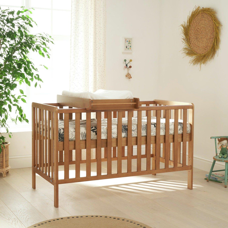 Tutti Bambini Malmo Cot Bed - Dove Grey