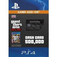 GTA 5 Bull Shark Cash Card PS4 Digital Download