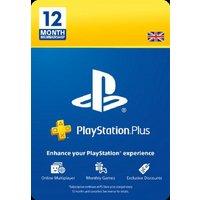 12 Month PlayStation Plus Membership
