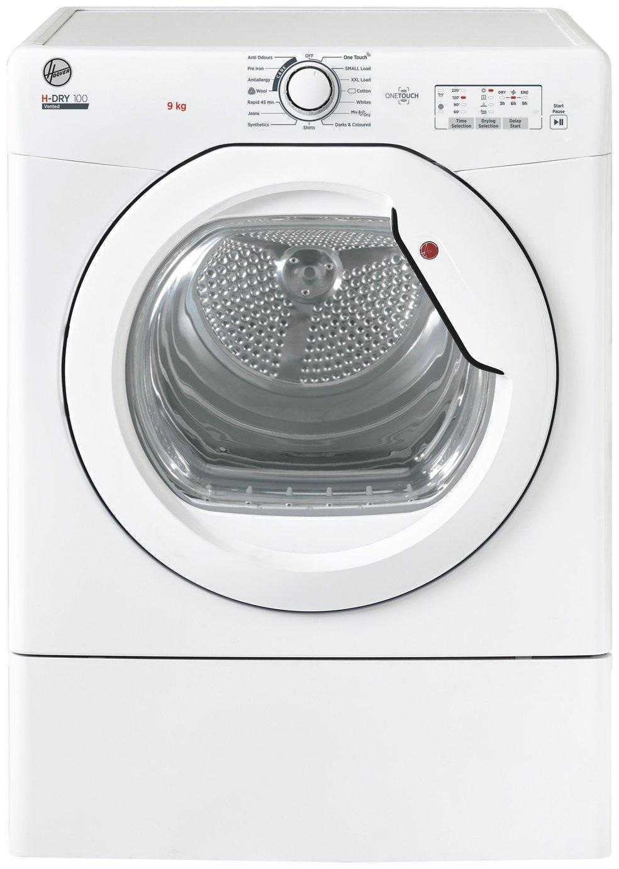 Hoover HLE V9LG-80 9KG Vented Tumble Dryer - White