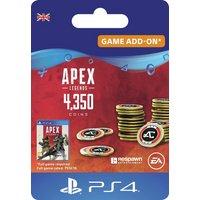 Apex Legends 4000+350 Bonus Coins PS4 Digital Download