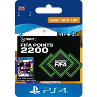 FIFA 21 Ultimate Team 2200 FIFA Points PS4 Digital Download