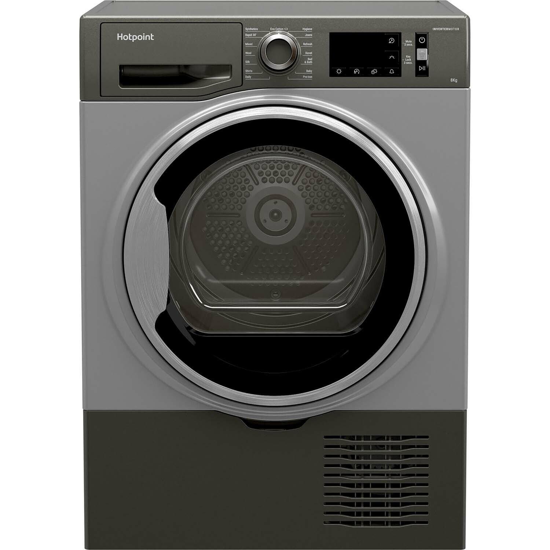 Hotpoint H3D81GSUK 8KG Condenser Tumble Dryer - Graphite
