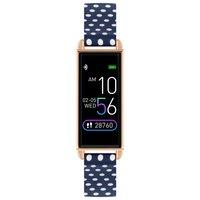 Reflex Active Series 2 Navy Polka Dot Strap Smart Watch