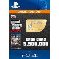 GTA 5 Whale Shark Cash Card PS4 Digital Download