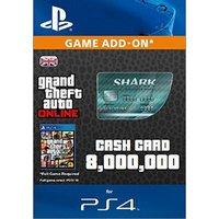 GTA V Megalodon Shark Cash Card PS4 Digital Download