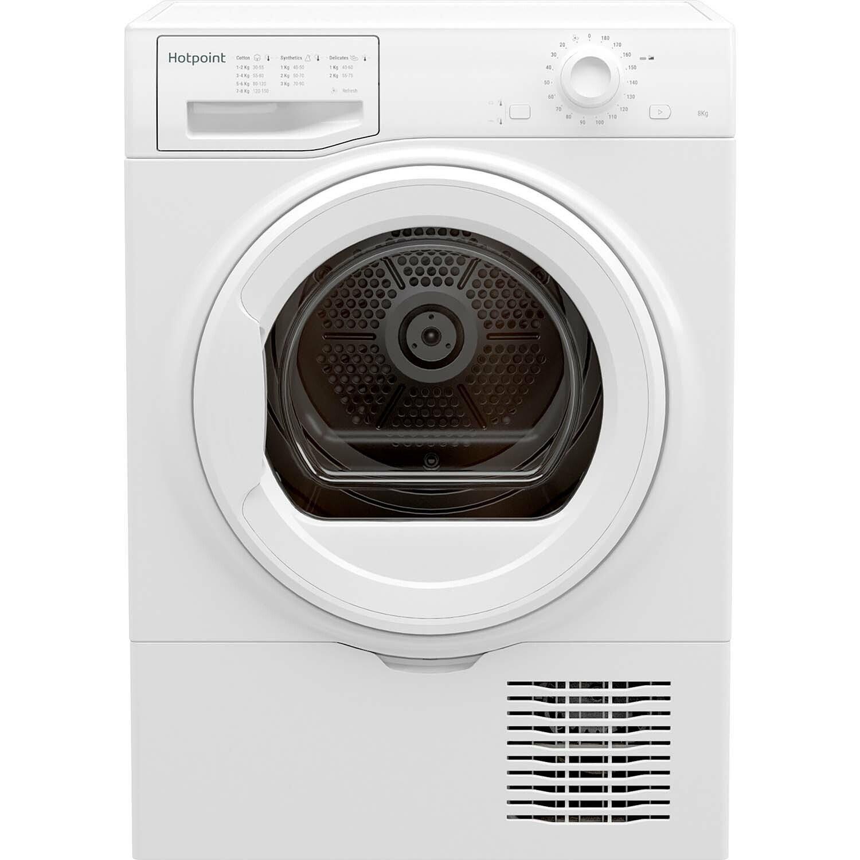 Hotpoint H2D81WUK 8KG Condenser Tumble Dryer - White