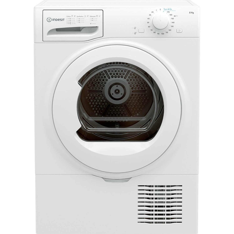 Indesit I2D81WUK 8KG Condenser Tumble Dryer - White