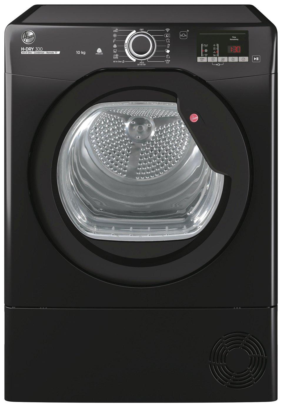 Hoover HLEC10DBGB-80 10KG Condenser Tumble Dryer - Black