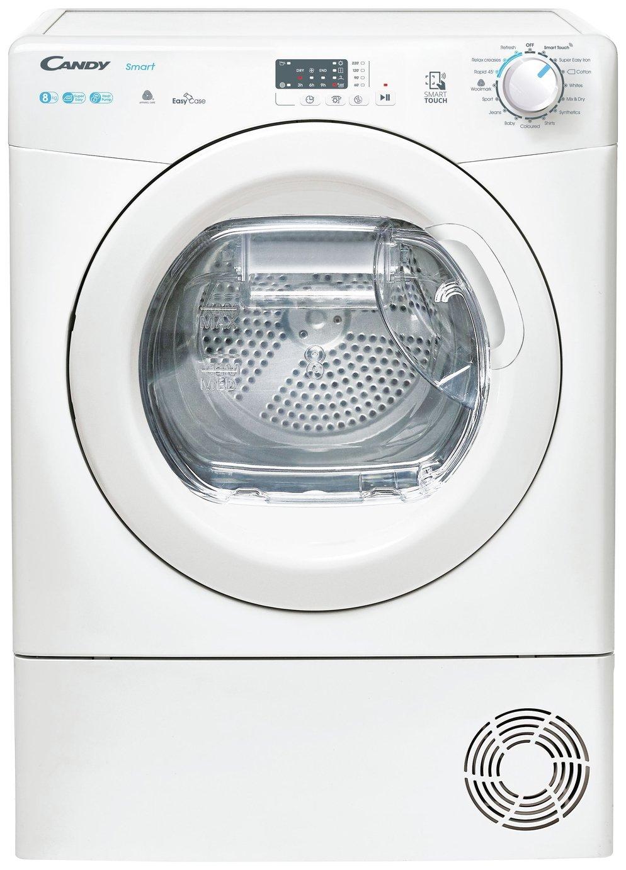 Candy CSE H8A2LE 8KG Heat Pump Tumble Dryer - White
