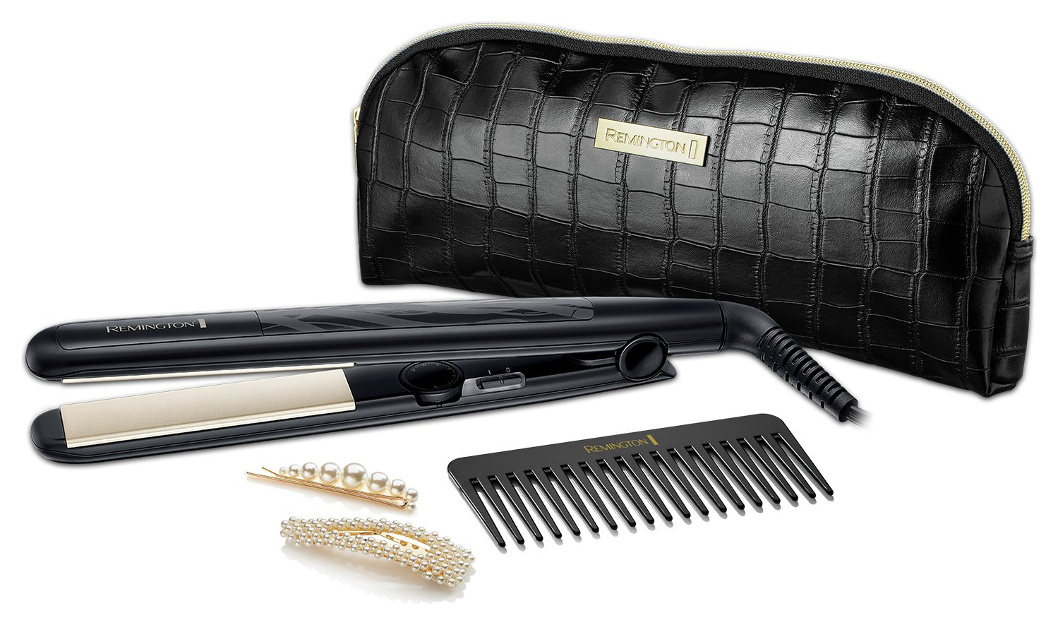 Remington S3505GP Style Edition Hair Straightener Gift Set