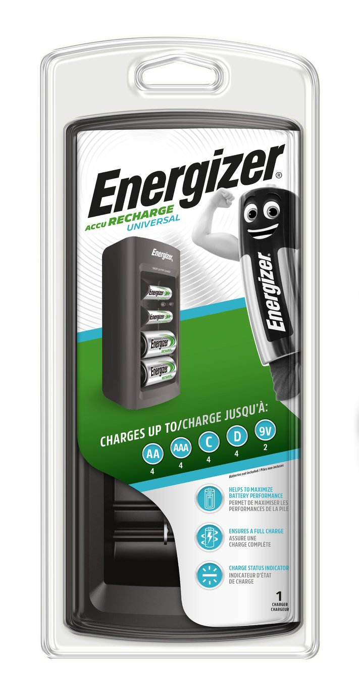 sale on energizer universal battery charger energizer. Black Bedroom Furniture Sets. Home Design Ideas