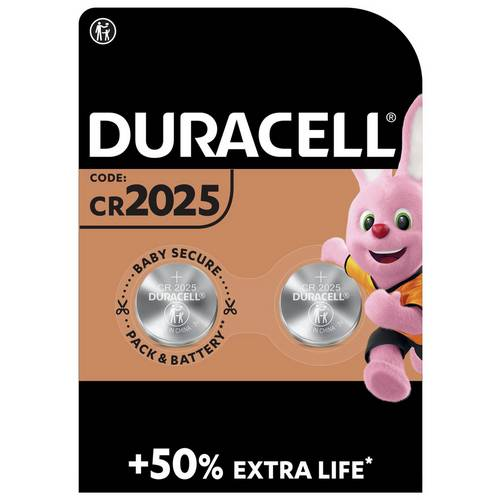 Buy Duracell Specialty 2025 Lithium Coin Batteries - Pack of 2 | Batteries  | Argos