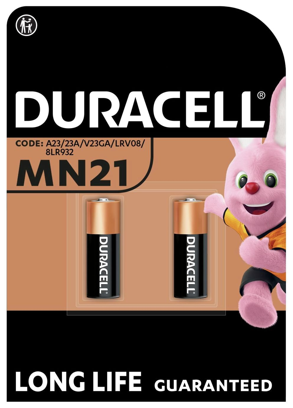 Duracell Specialty Alkaline MN21 Batteries - Pack of 2