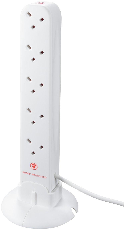 Masterplug 10 Socket Surge Protected Extension Lead 4m