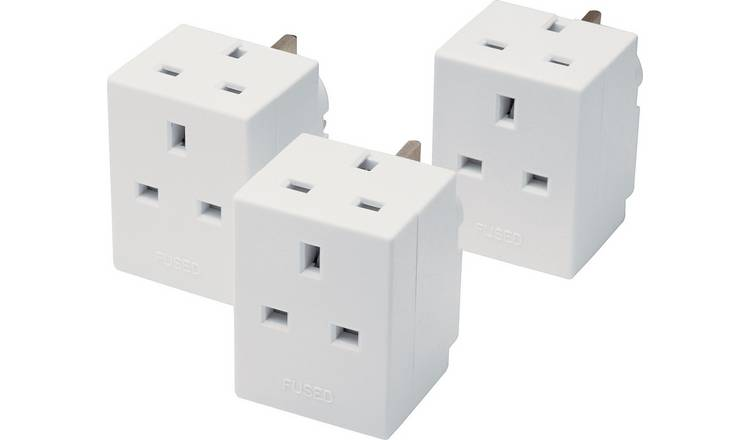 2-Way Adaptor Triple Pack