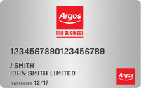 Argos Business Card logo