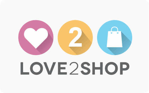 Love 2 Shop Card logo