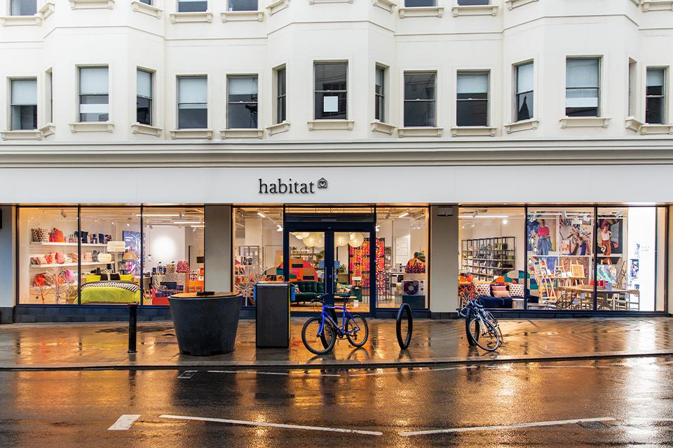 New flagship stores in Brighton and London.