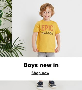 A boy wearing an outfit