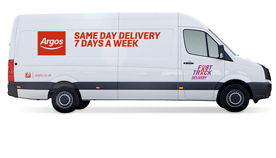Same day home delivery. Get your products delivered in as little as 4 hours, for only £3.95.