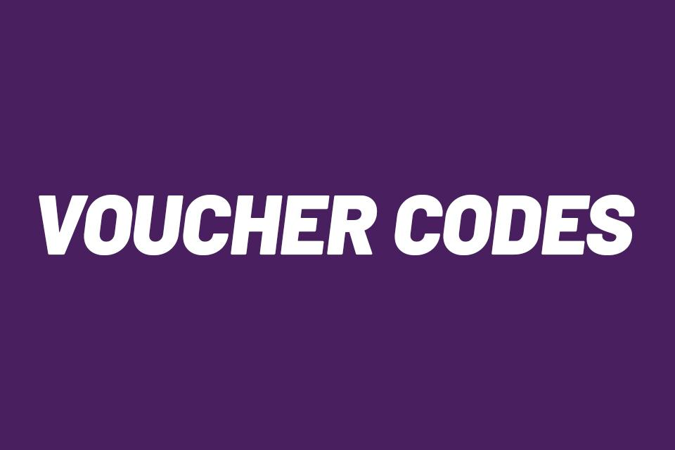 Voucher codes and offers.