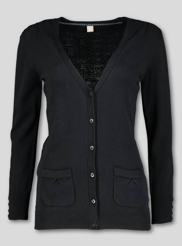 Black Longer Line Cardigan - 13 years