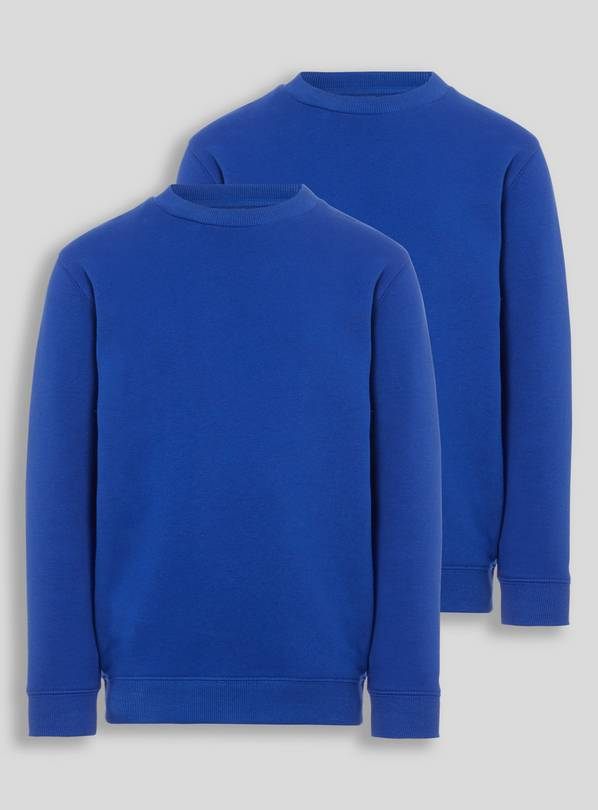 Blue Crew Neck Sweatshirt 2 Pack - 3 years