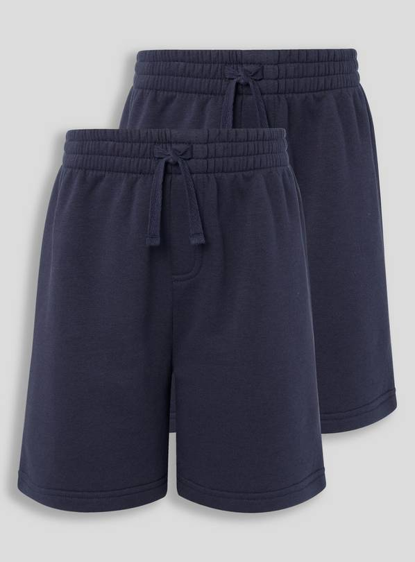 Navy Sweat Shorts 2 Pack - 15 years