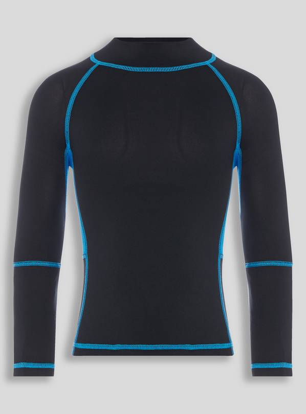 Active Black Sports Top - 14 years