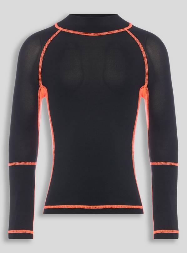Active Black Sports Top - 11 years
